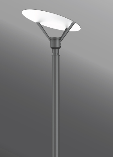Click to view Ligman Lighting's Syndy Oval Post Top (model USY-2064X).